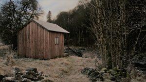 Fishing hut, Milton of Drimmie