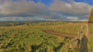 Glenericht, looking north west