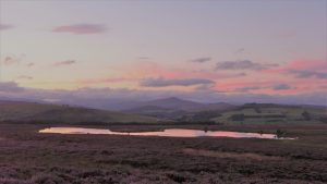 View north to Mount Blair and the Cairngorms